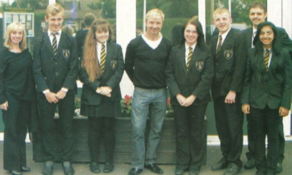 2012 Colonel Frank Seely visit by ex-pupil Christopher Dean
