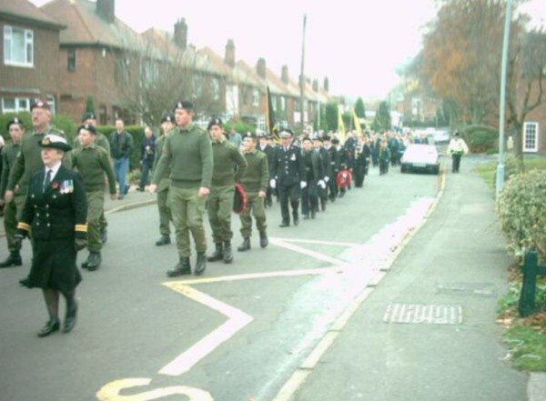 2002 Remembrance Procession