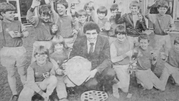 St Wilfrids football side 1982