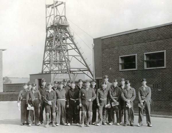 September 28th 1960 : Colliery visit of Nottingham Chamber of Commerce