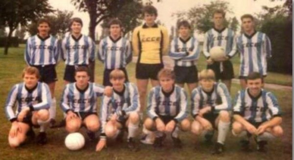 1980s CCE 11-a-side team