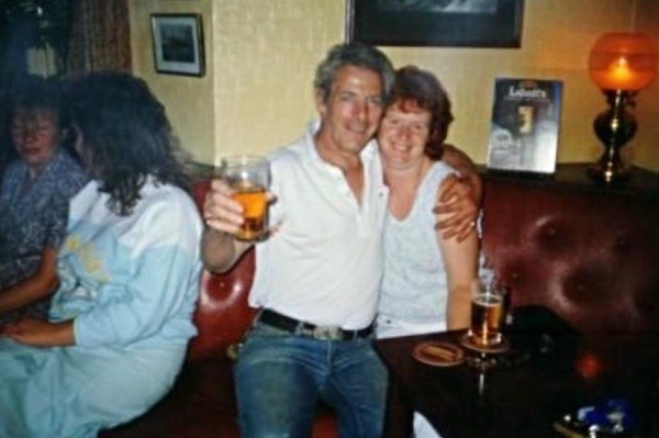 Mick and Sue Bradley.