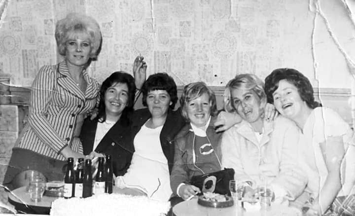 Geordie Club with June Court, Ann Bell, Rita Jacques et al